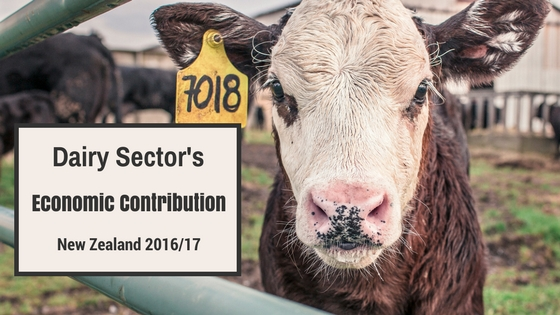 Dairy Sector's Economic Contribution To NZ. Waibury blog